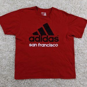 Adidas San Francisco Shirt Men XL 3 Stripes A32